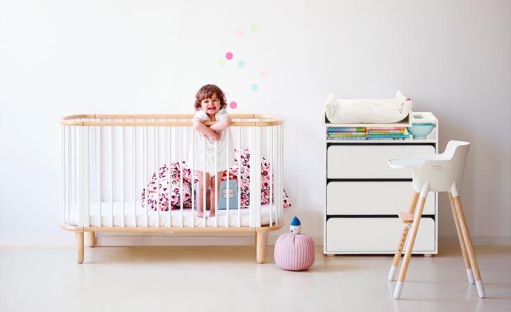 Babybett: von Geburt bis zum 8. Lebensjahr!