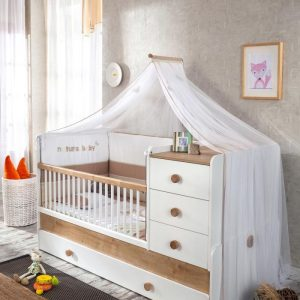 Natura Babybett Umbaubar