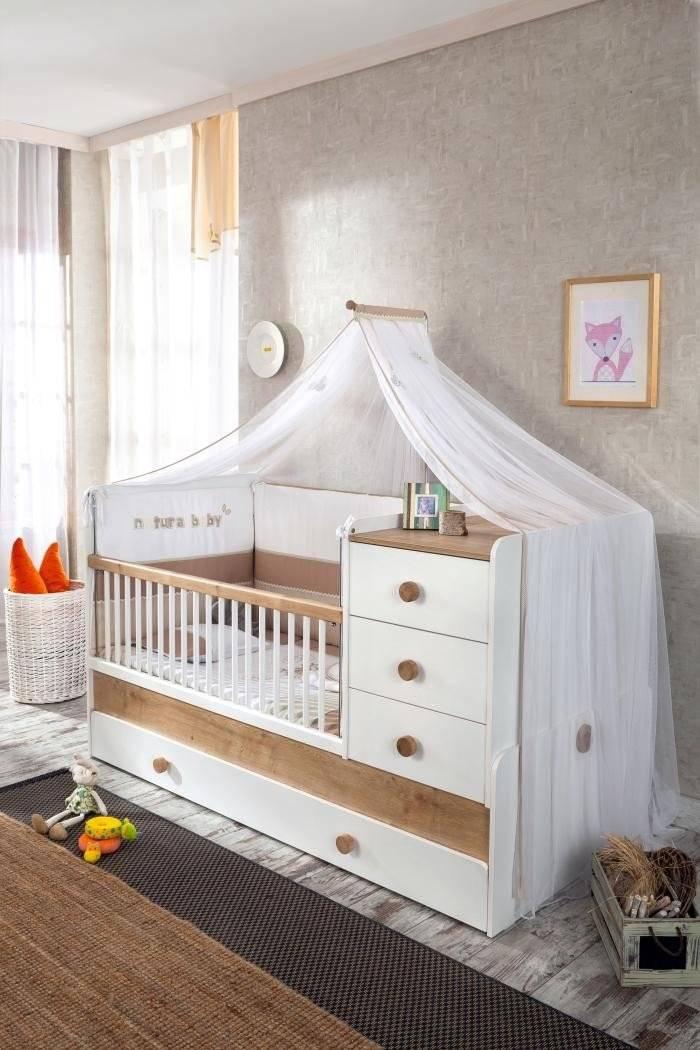cilek natura baby mitwachsendes babybett liegefl chen 80 x 180 cm. Black Bedroom Furniture Sets. Home Design Ideas