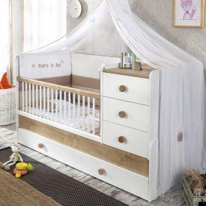 Cilek Natura Baby Babybett umbaubar