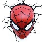 Spider-Man Wandlampe 3D