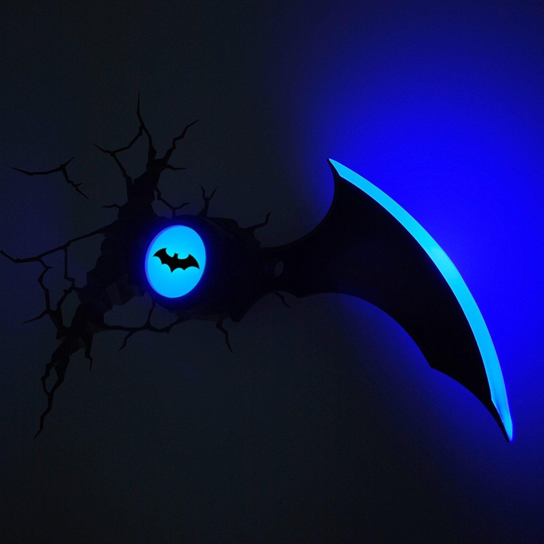 Batman batarang wandlampe 3d panda kinderm bel - Wandlampe babyzimmer ...