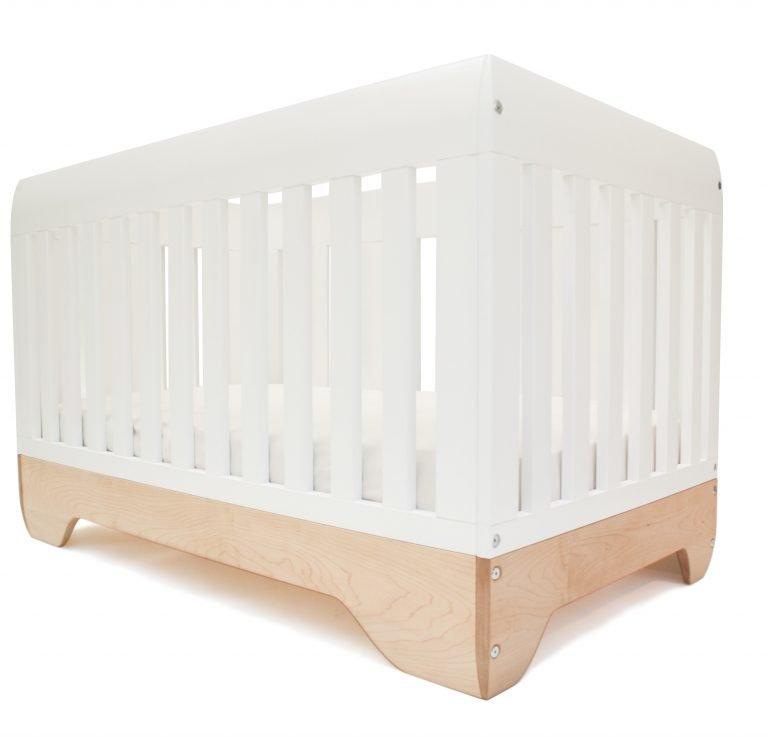 Echo Babybett umbaubar zum Juniorbett - Panda Kindermöbel