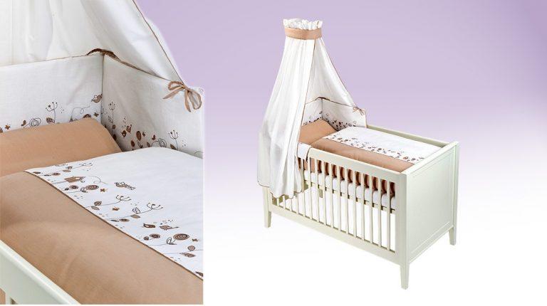 Wiesenglück natur Babytextilien-Set