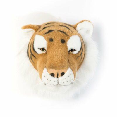 Plüsch Tierkopf-Trophäe Tiger Felix