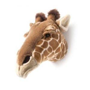 Plüsch Tierkopf-Trophäe Giraffe Ruby