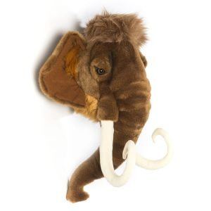 Plüsch Tierkopf-Trophäe Mammut Arthur