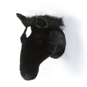 Plüsch Tierkopf-Trophäe Pferd Peter