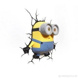 Minions-Bob Wandlampe 3D