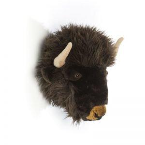 Plüsch Tierkopf Büffel Alex
