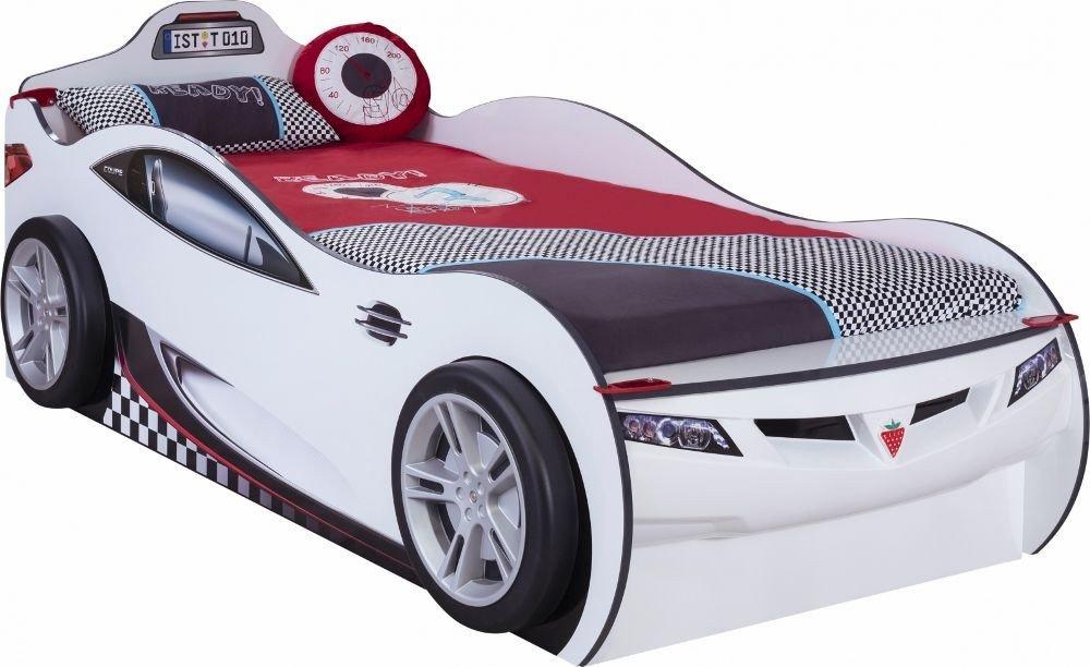Autobett Coupe mit Zusatzbett Weiss