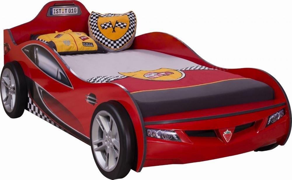 Autobett Coupe Rot