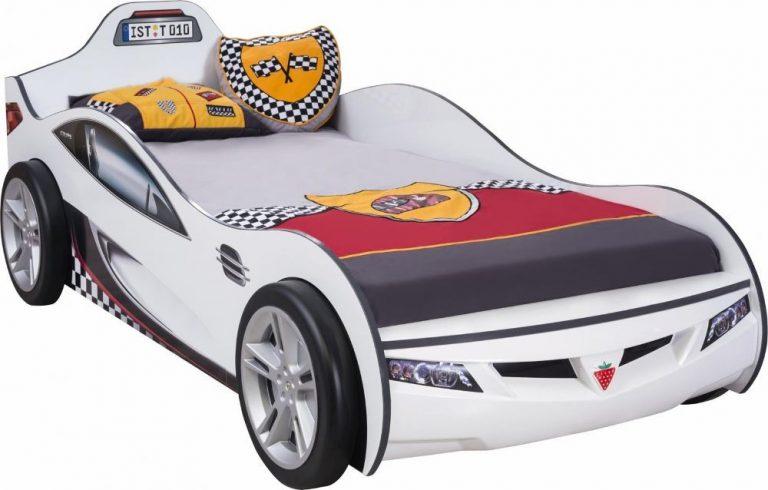 Autobett Coupe Weiss