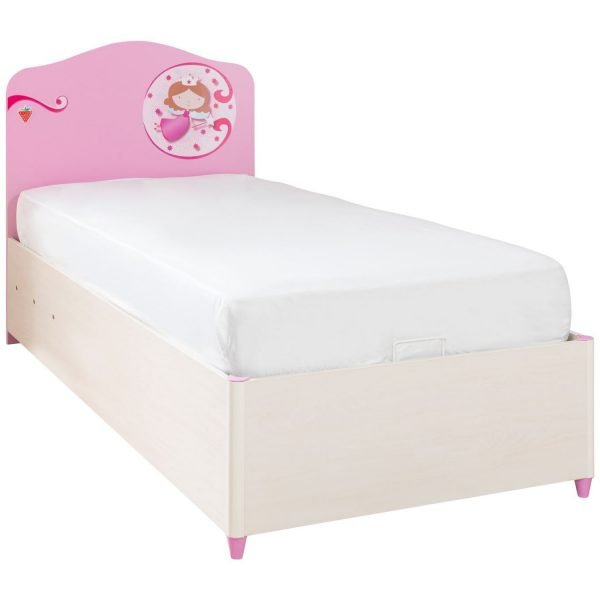 cilek princess bett mit stauraum 90x190cm panda kinderm bel. Black Bedroom Furniture Sets. Home Design Ideas