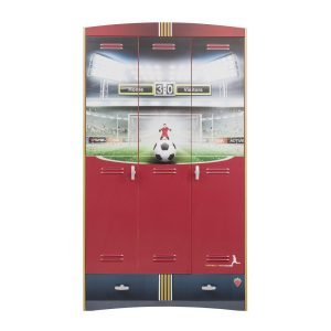 Football Kleiderschrank 3-türig