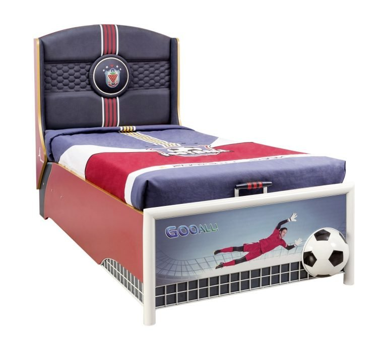 cilek football bett mit stauraum 90x190cm panda kinderm bel. Black Bedroom Furniture Sets. Home Design Ideas