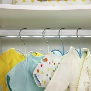 Baby Cotton Kleiderschrank 3-türig