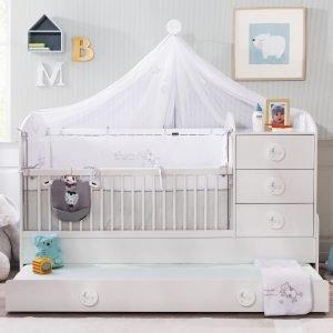 Baby Cotton Babybett umbaubar