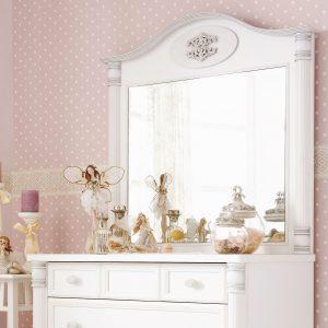 Romantic Spiegel Aufsatz (für Kommode)
