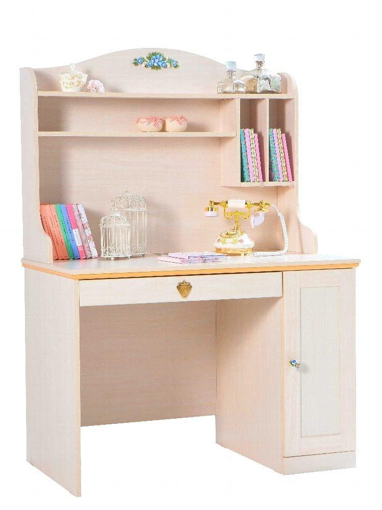 Schreibtisch mit aufsatz for Kindermobel auf rechnung bestellen