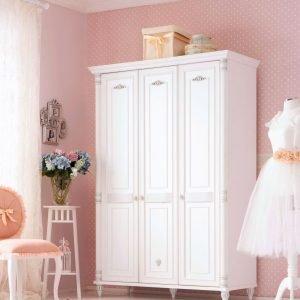 Romantic Kleiderschrank 3-türig