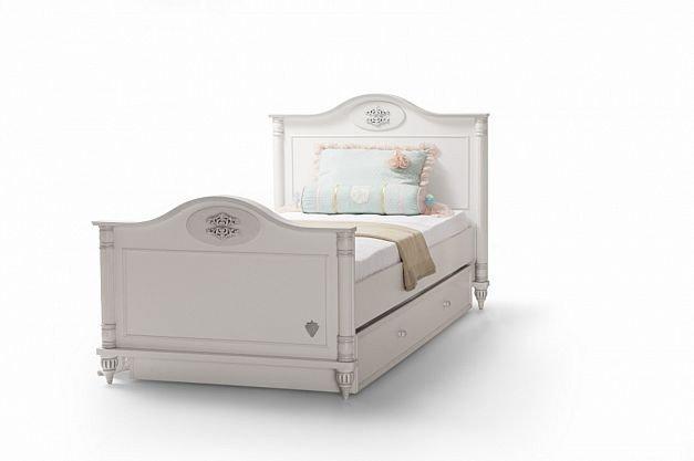 romantic l bett 100x200cm s sses bett f r m dchen. Black Bedroom Furniture Sets. Home Design Ideas