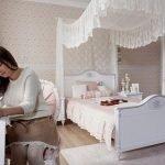 Romantic XL Bett (120x200cm)