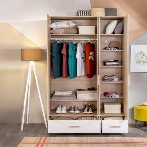 Dynamic Kleiderschrank 3-türig