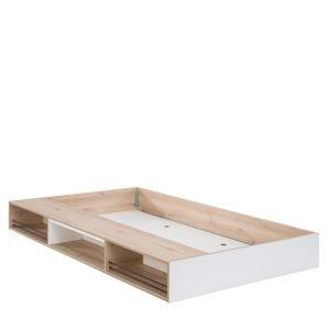 Dynamic Ausziehbett mit Fächern (90x190cm)