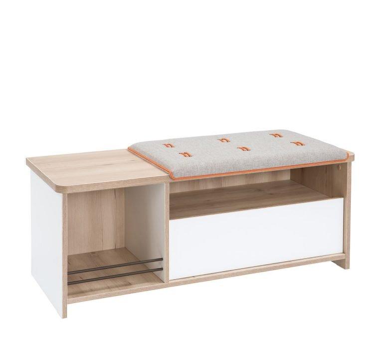 cilek dynamic hocker mit schublade bei panda kinderm bel. Black Bedroom Furniture Sets. Home Design Ideas