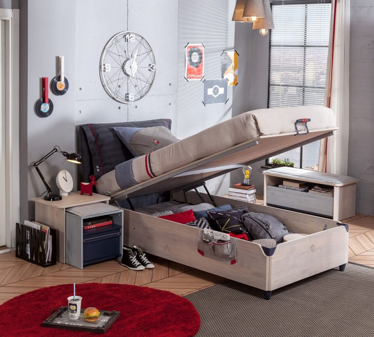 bett stauraum elegant viscos blue bett mit stauraum with. Black Bedroom Furniture Sets. Home Design Ideas