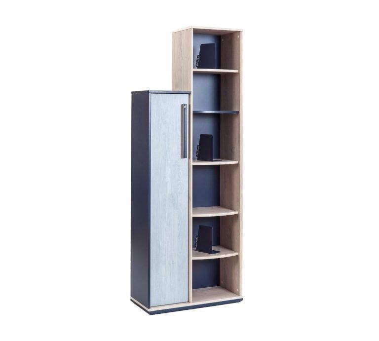 trio b cherregal funktionelles b cherregal im industrial. Black Bedroom Furniture Sets. Home Design Ideas
