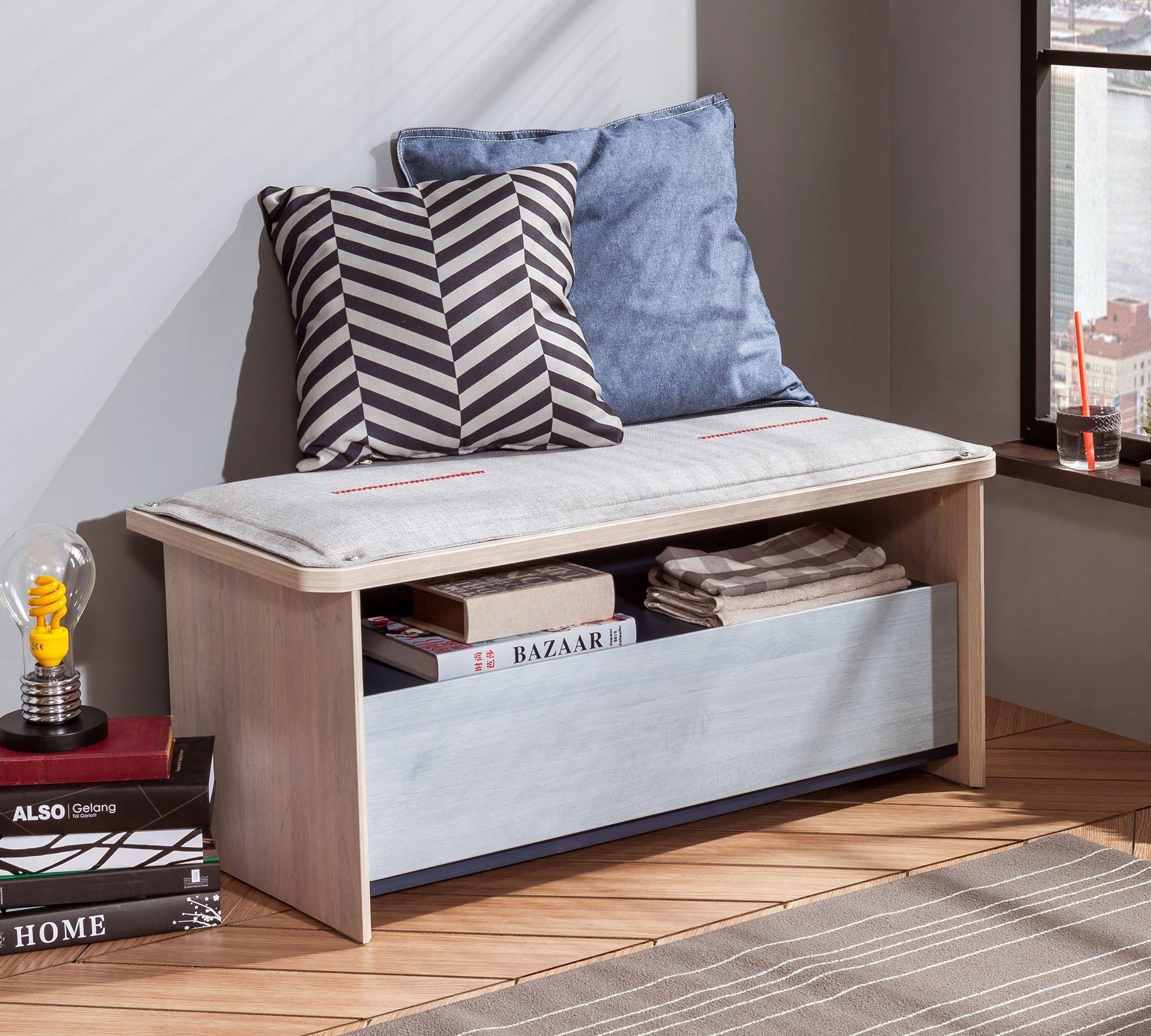 cilek trio hocker mit stauraum bei panda kinderm bel. Black Bedroom Furniture Sets. Home Design Ideas