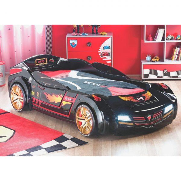 Auto bett great autobett lkw inkl lattenrost und matratze gelb x cm with auto bett cheap cars - Car kindermobel ...