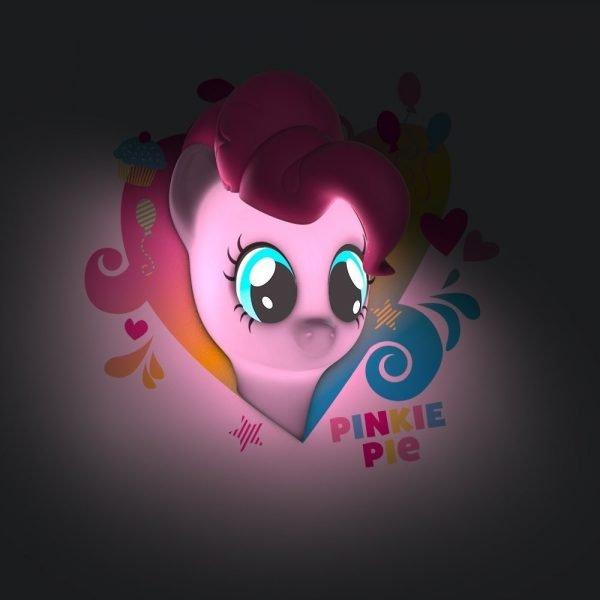Pony Pinkie Pie Wandlampe 3D