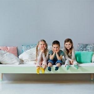 Play Kinderbett / Mintgrün