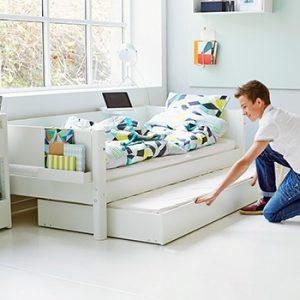 Flexa Einzelbett / Weiss