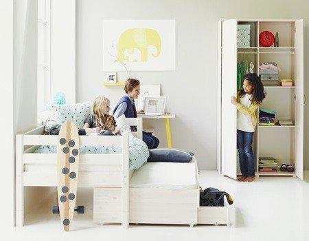 Flexa Etagenbett Montageanleitung : Flexa bett mit ausziehbett und schubkasten div farben praktisch
