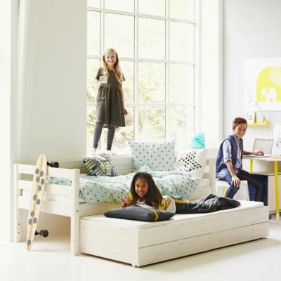 Flexa Bett mit Ausziehbett und 2 Schubkasten