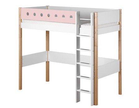 flexa hochbett white natur f sse hochwertiges hochbett. Black Bedroom Furniture Sets. Home Design Ideas
