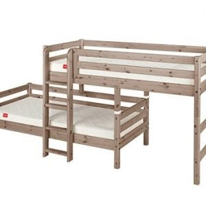 Flexa Classic Mittelhohes Bett / Terra