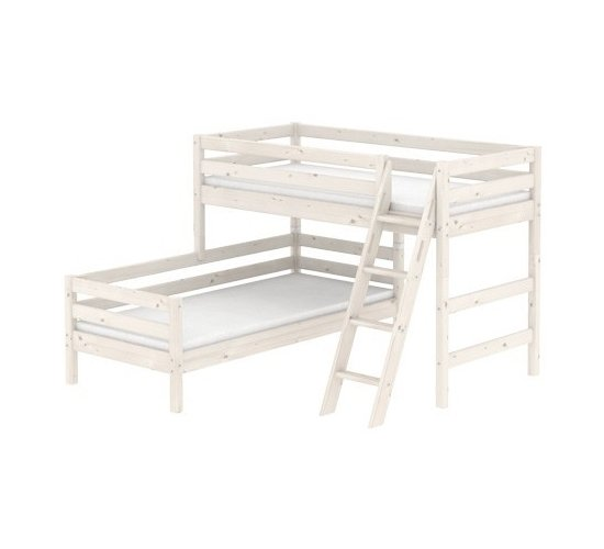 flexa kinderbett top full size of nachttisch zum einhangen am bett massivholz x cm purenature. Black Bedroom Furniture Sets. Home Design Ideas