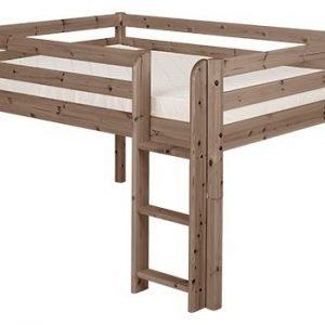 Flexa Classic Halbhohes Bett 140 cm / Terra
