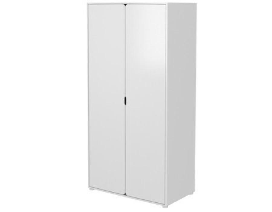 Flexa Extra hoher Kleiderschrank Cabby ( 2 Türen ) / Weiss