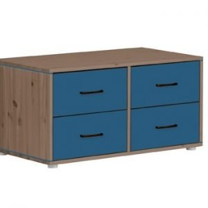 Flexa Kommoden mit 4 Schubladen/ Terra - Nordic Blue - Nordic Blue