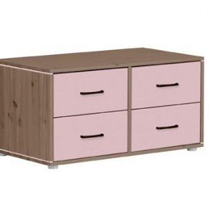 Flexa Kommoden mit 4 Schubladen/ Terra - Rosa - Rosa