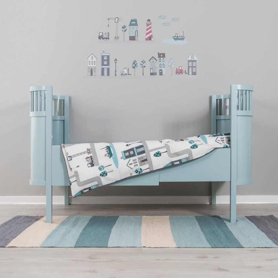 sebra babybett mitwachsend d nisches umbaubares. Black Bedroom Furniture Sets. Home Design Ideas