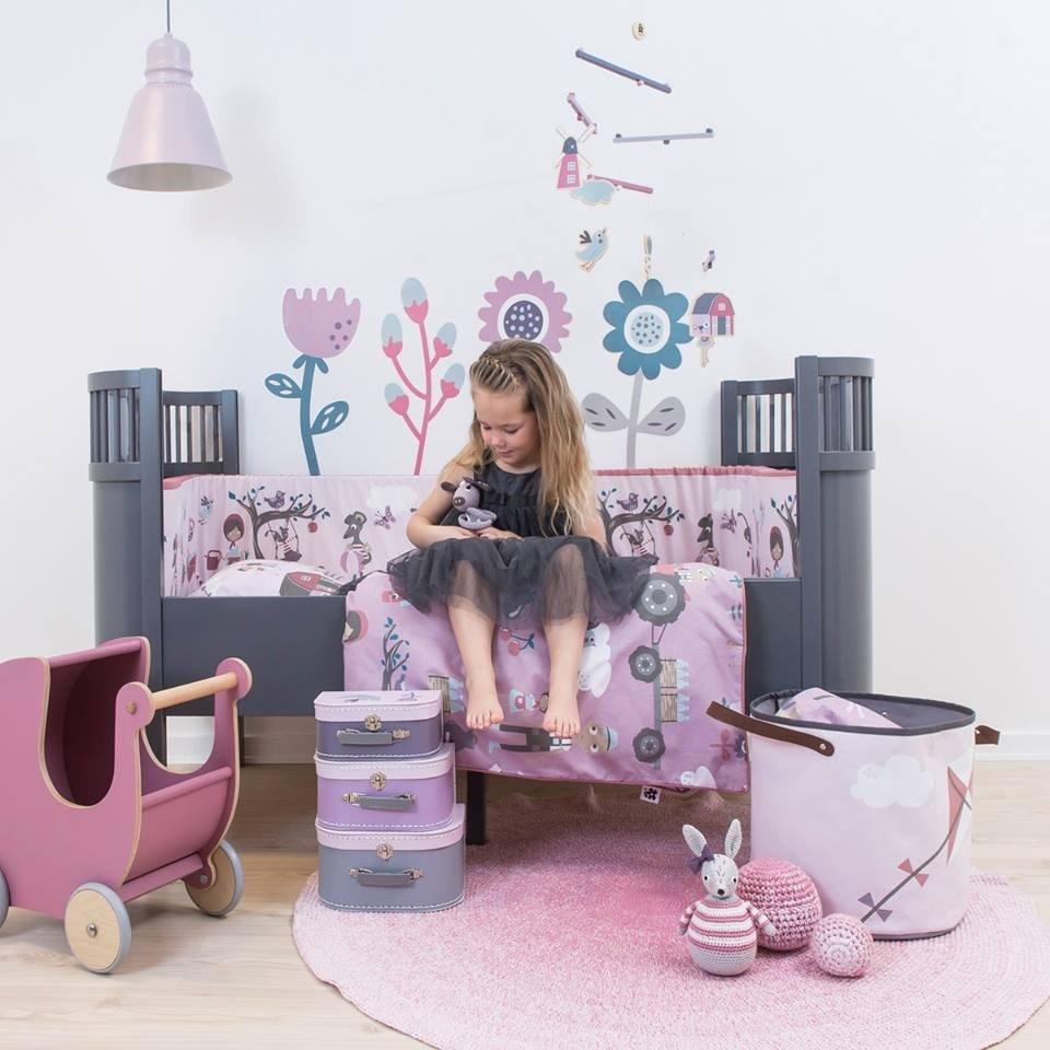 Sebra babybett mitwachsend vergr sserbares designer bett - Designer babybett ...
