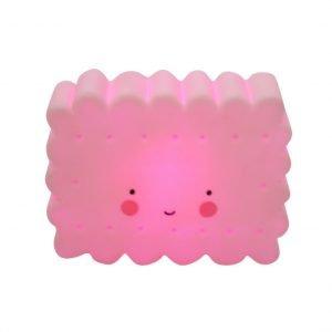 Dekolampe mini Keks (pink)
