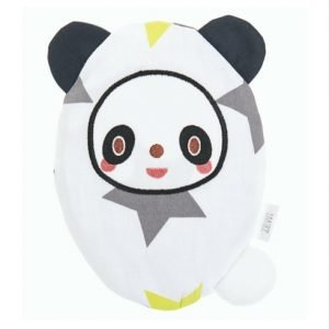 Traubenkernkissen Panda